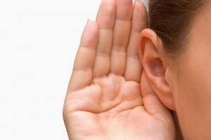 luisteren, horen, verstaan, slechthorend